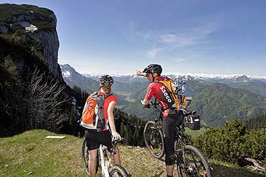 Mountainbike trails in Waidring - Steinplatte and surrounding mountains