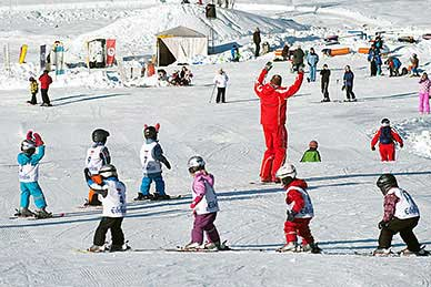 Ski courses for children Kinder in Waidring - skischool