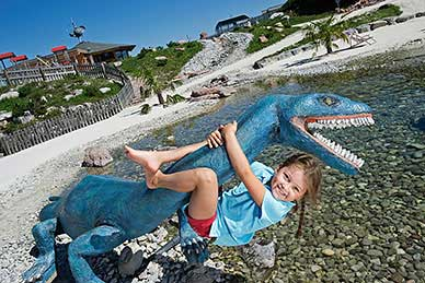 Triassic theme park - Steinplatte Waidring / Tyrol in summer